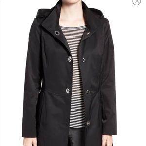 CeCe Ellie Turnkey Raincoat with Detachable Hood